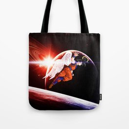 goku winged Tote Bag