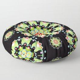 Firework Mandala Floor Pillow