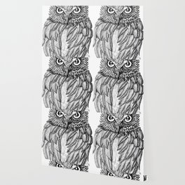 Fierce Owl Wallpaper