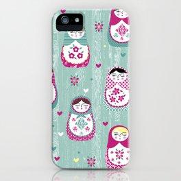 Matryoshka Dolls iPhone Case