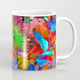 """ Kiwi Lifestyle"" - Pohutukawa NZ Bloom- Pop ART Coffee Mug"