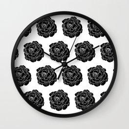 Lettuce Black Wall Clock