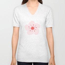 Sakura flower Unisex V-Neck