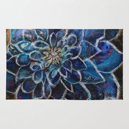 Blue Dahlia Rug