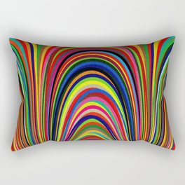 Colorful Arches Rectangular Pillow