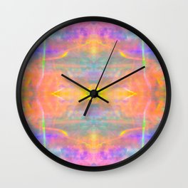 Prisms Play of Light 2 Mandala Wall Clock