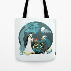 Snowhite and the Evil Witch Tote Bag