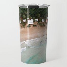 Tropical Summer Beach in The Philippines Travel Mug