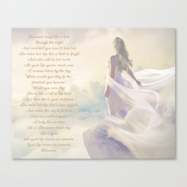 Rhiannon | Stevie Nicks Inspired Lyric Art Print Poster Canvas Print