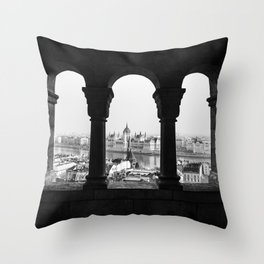 Room with a view. Throw Pillow