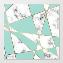 Marble Geometry 055 Canvas Print