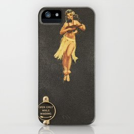 Hula Only While Winding iPhone Case