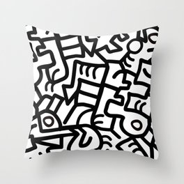 Dazed and Confused in the Morning Throw Pillow
