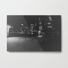 Love in Chicago Metal Print