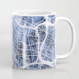 Los Angeles City Street Map Coffee Mug