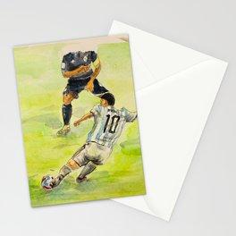 Lionel Messi_ Argentine professional footballer Stationery Cards