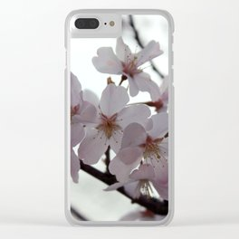 Fingers to the Sky Clear iPhone Case