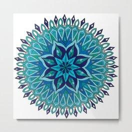 Mandala of Intuition Metal Print