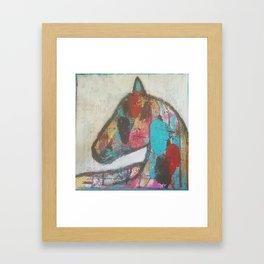 The Soul of a Horse Framed Art Print