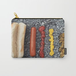 Deconstructed Hot Dog Carry-All Pouch