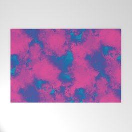 Cotton Candy Clouds Welcome Mat