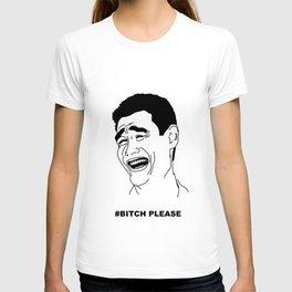 Bitch please comics T-shirt