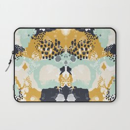 Tinsley - Abstract painting in bold, modern, bright colors Laptop Sleeve