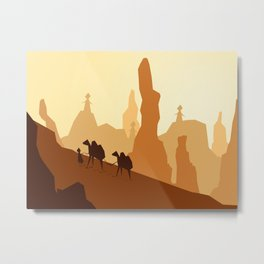Desert Wnaderer Metal Print