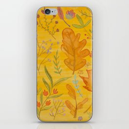 Autumn Blend iPhone Skin