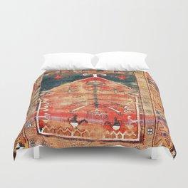 Konya Central Anatolian Niche Rug Print Duvet Cover