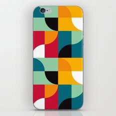 Squares & Curves iPhone & iPod Skin