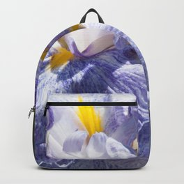 The love of the Iris by Teresa Thompson Backpack
