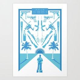 R1R2L1R2 Art Print