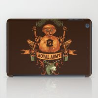 army iPad Cases featuring Royal Army by Hillary White