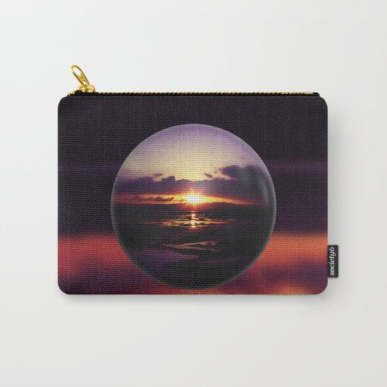 Float on the clouds like a drop of dew and bask in the light of a sunrise view Carry-All Pouch