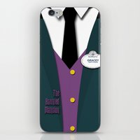 haunted mansion iPhone & iPod Skins featuring The Haunted Mansion Uniform by Tom Storrer