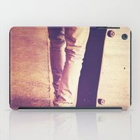 religion iPad Cases featuring Skate is my religion by Rafael&Arty