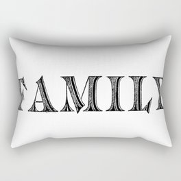 Family Rectangular Pillow