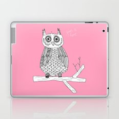 Pink Owl Gives A Hoot Laptop & iPad Skin