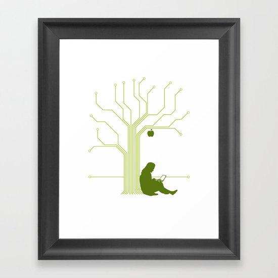 Apple CircuiTree Framed Art Print