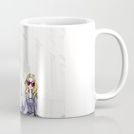 City fashion walk Coffee Mug