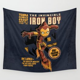 THE INVINCIBLE IRON BOY Wall Tapestry