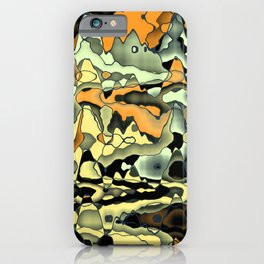 Rusty abstract iPhone Case