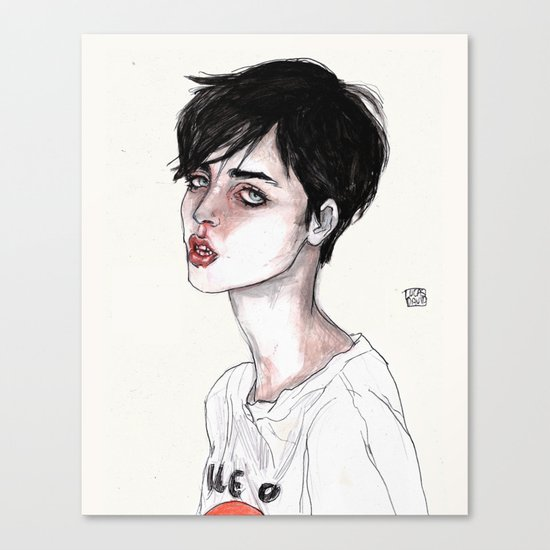 Lucas David's Fave Canvas Print