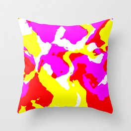 National Paintographic Throw Pillow