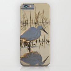 Little Egret at Dusk iPhone 6s Slim Case