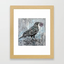 the Crow Framed Art Print
