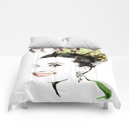 Vogue Fashion Illustration #15 Comforters