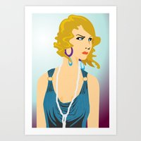 great gatsby Art Prints featuring Gatsby by David Sparvero