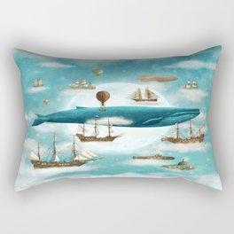 Ocean Meets Sky - revised Rectangular Pillow